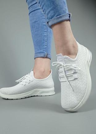 Летние белые кроссовки лёгкие бесплатная доставка укрпочтой