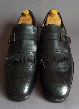 Туфли монки броги musto италия