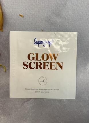 Пробник солнцезащитного увлажняющего праймера supergoop glow screen spf403 фото