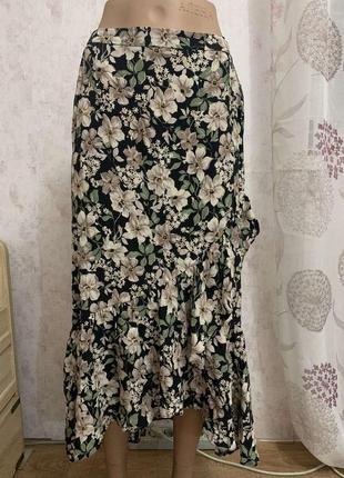 Шикарная длинная юбка от primark