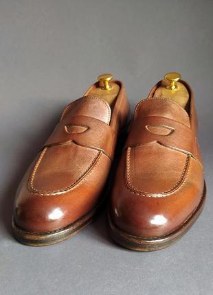 Туфли пенни-лоферы италия