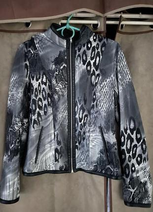 Куртка кожаная двухсторонняя