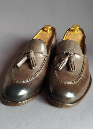 Туфли тассел-лоферы италия