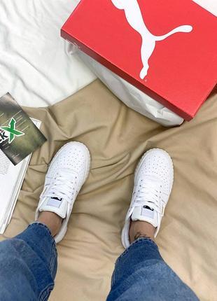 Кроссовки в стиле puma cali white5 фото