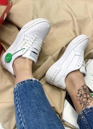 Кроссовки в стиле puma cali white3 фото