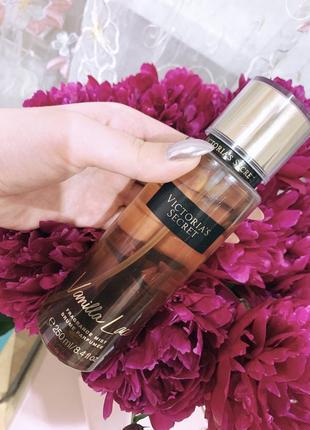 Victoria's secret vanilla lace парфюмированный мист спрей ваниль виктория сикрет