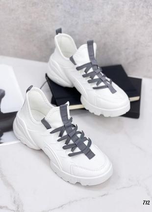 Распродажа! кроссовки женские белые кеды текстильные кросівки жіночі кеди білі1 фото