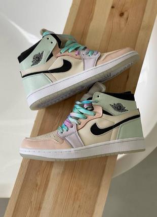 Nike air jordan 1 high og, кроссовки джорданы женские найк