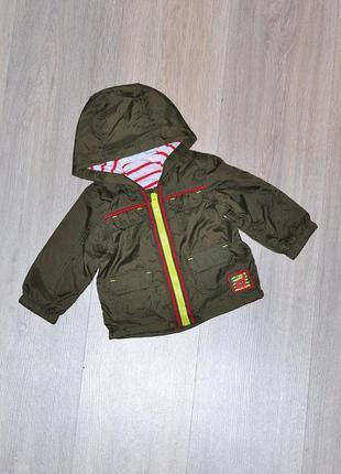 Куртка ветровка nutmeg 3-6 мес. тонкая легкая курточка демисезонная деми вітровка вітрівка ветрівка