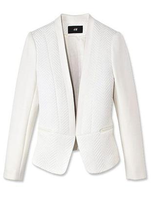 Фактурный пиджак от h&m (огромный выбор пиджаков)