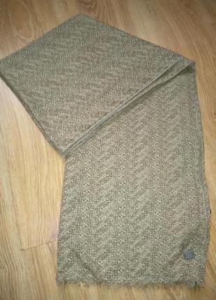 Hugo boss хлопковый шарф