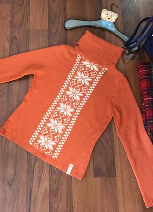Очень теплий гольф свитер кофта кофточка