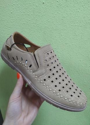 Мужские туфли дышащие лето