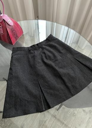 Школьная юбка классическая мини юбка next