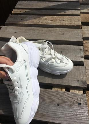 Кожаные кроссовки2 фото