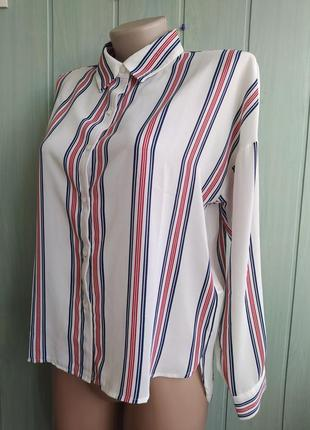Forever21 стильная блуза, рубашка в полоску