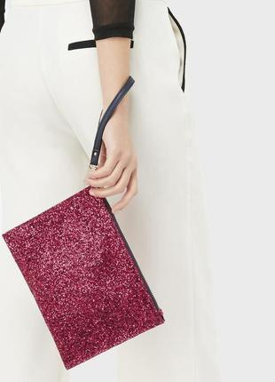 Яркий клатч accessorize , размер 17,5 х 24