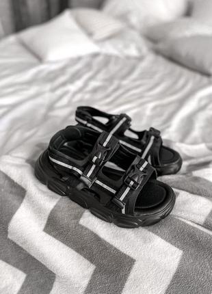 Босоножки stilli slippers black