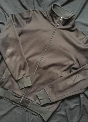 Чёрная олимпийка sherpa унисекс