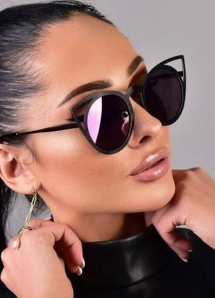 Стильные женские очки‼️упакуем отлично‼️ доедут без проблем ‼️4 фото