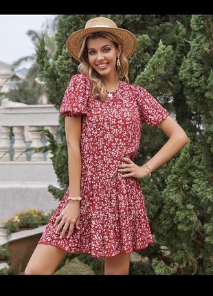 Платье милое в цветы вискоза мила сукня плаття ❤️‼️❤️