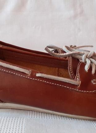 Timberland шкіряні туфлі балетки. 41,5 р. уст.фото