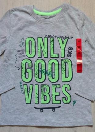 Реглан футболка кофта pepco котоновый1 фото