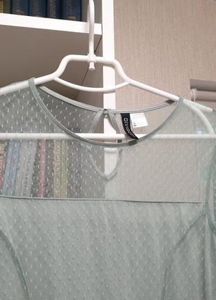 Нежное мятное платье кружево3 фото