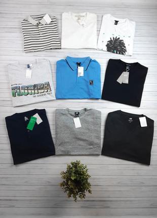 Большой выбор мужских футболок и поло, все оригинал