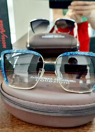 Женские солнцезащитные очки. производство италия.