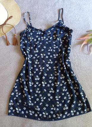 Мини платье в бельевом стиле мильфлер