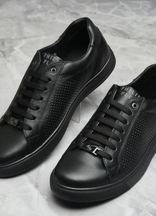 Мужские туфли кроссовки филипп плейн