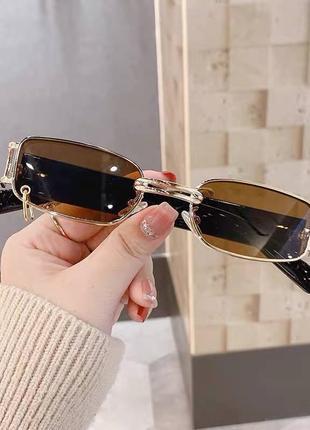 Хіт 2021💣 окуляри з колечком👓4 фото