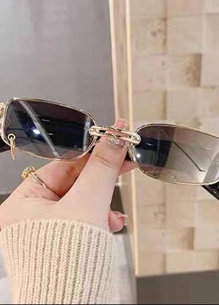 Хіт 2021💣 окуляри з колечком👓5 фото