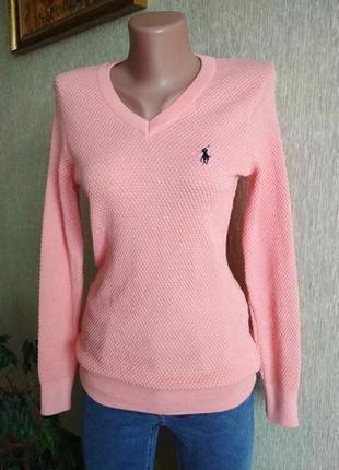 Классный фирменный свитер поло, джемпер,р.36-40