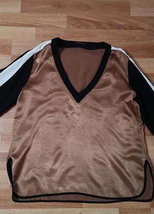 Блуза sisley вискоза