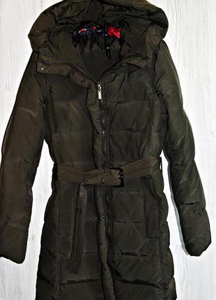 Очень классное и оочень теплое пуховое пальто фирмы zara оригинал