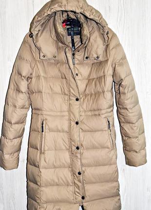 Оочень крутое и теплое пуховое мягусенькое пальто бренд benetton оригинал