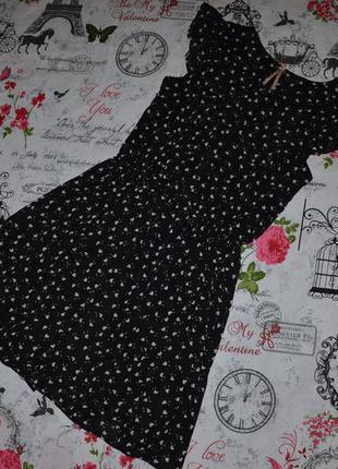 Шифоновое платье next на 11 лет