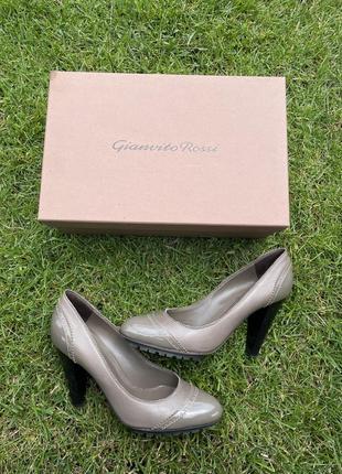 Туфли на каблуке в идеале gianvito rossi