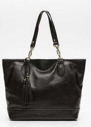 Кожаная сумка французского бренда pascal morabito