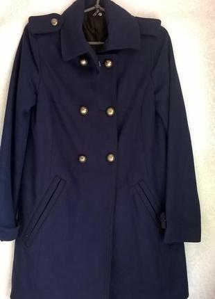 Пальто-шинель шерстяне