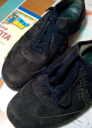 Акцыя  замшевые кроссовки
