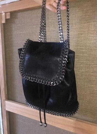 Рюкзак сумка чёрный