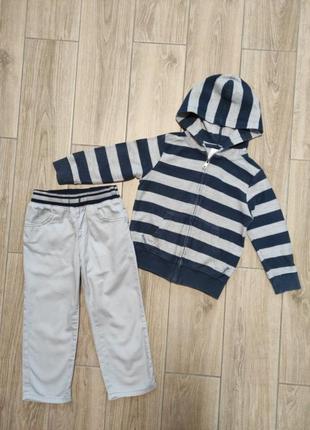 Комплект джинсы и кофта1 фото