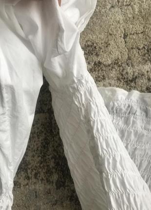 Топ топик кофта рубашка рукава фонарики буфи с объёмными рукавами5 фото