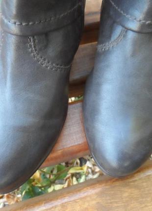 Ботинки gabor демисезонные кожа