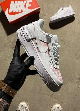 Nike air force 1 shadow x christian dior pink.2 фото