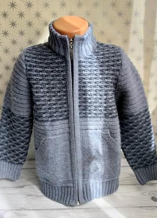 Кофта на молнии свитер