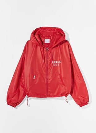 Новая ветровка, куртка bershka, размер s